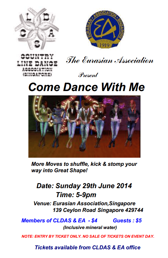 Come Dance With Me - Jam @ ECH