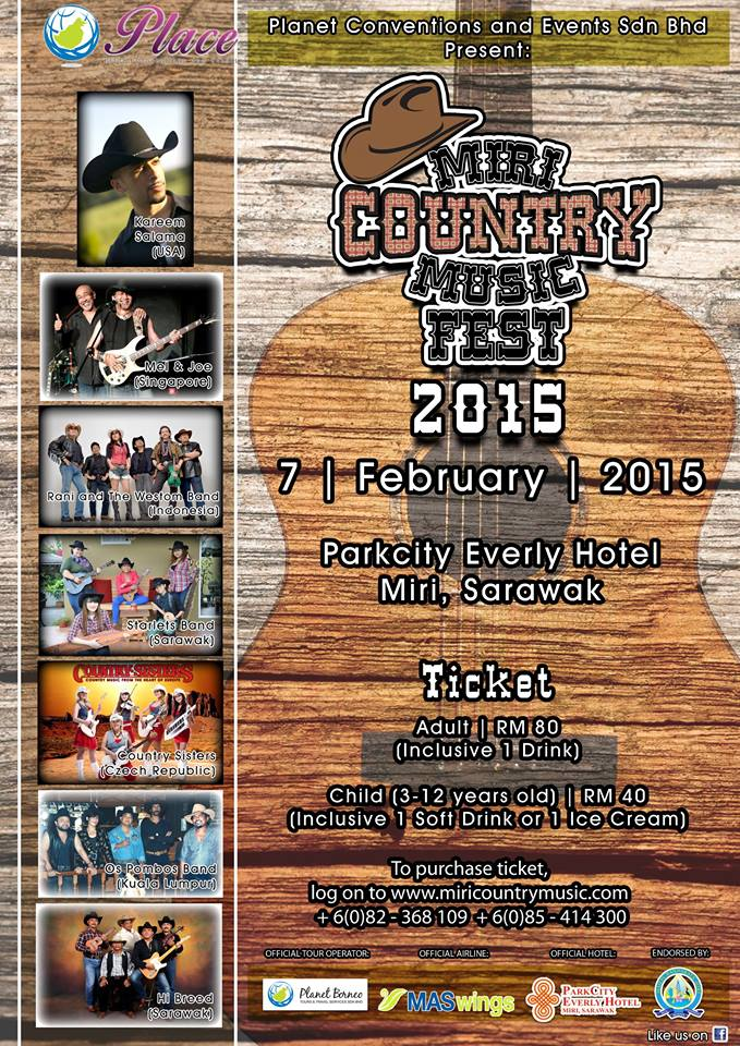 Miri Country Music Festival 2015