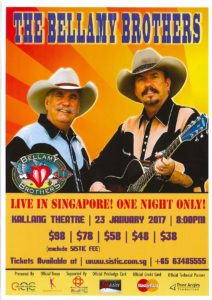 Bellamy Brothers Live In Singapore 23 January 2017
