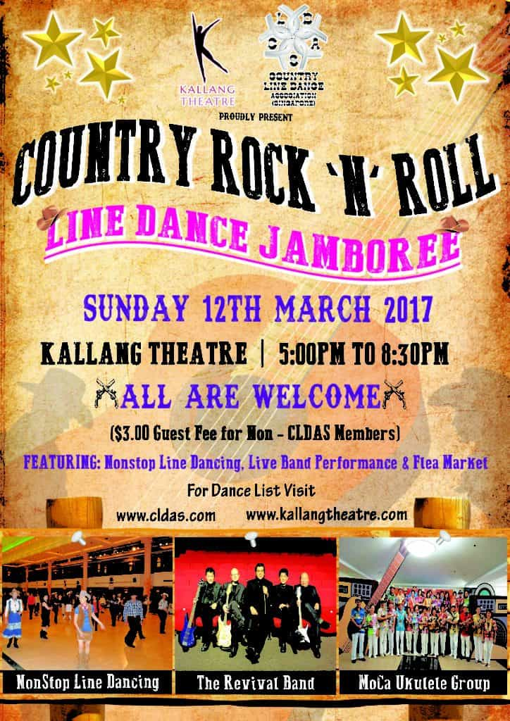Line Dancing Jamboree @ Kallang Theatre