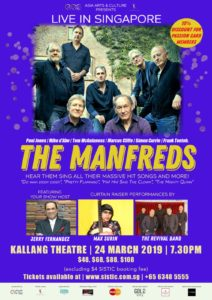The Manfreds - Live in Singapore